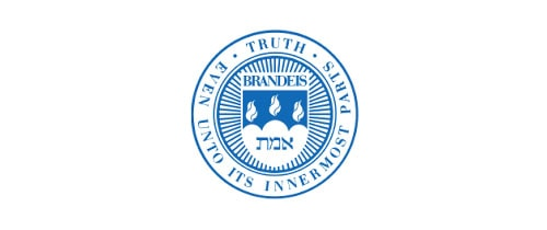Brandeis University higher ed logo