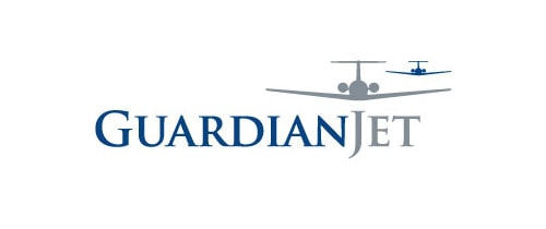Guardian Jet aircraft sales logo